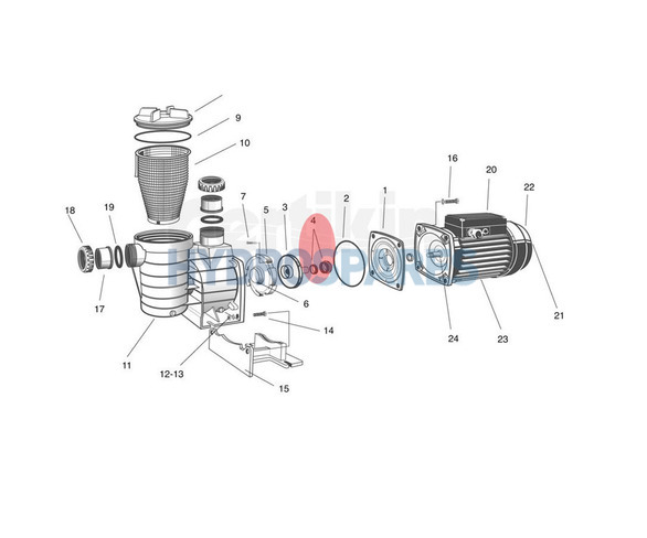 Mechanical Seal - SPAQ44