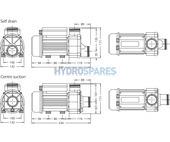 HydroAir HA350 - Whirlpool Bath Pump 21-35221