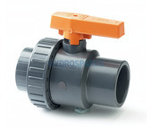PVC Ball Valve - Single Union 1.5""