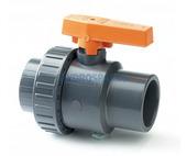 PVC Ball Valve - Single Union 50mm