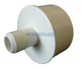 PVC Manifold Plug - Spigot - Glued x Barbed