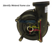 Waterway Executive 48F Wet End - 3.0HP - 2 x 2