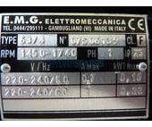 EMG Motor 48F - Single speed - 1/8Hp