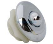 Hydrospares Air Button - Chrome 63mmØ