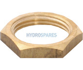 """1/2"""" Brass Nut For Air Jet"""