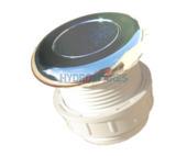 Hydrospares Air Button - Chrome 51mm Ø