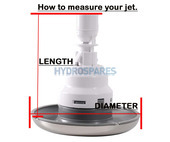 "HydroAir Adj. VSR Jet 5"" - Directional+Rotational"