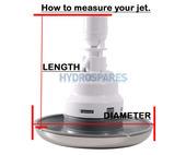 "HydroAir Adj. VSR Jet 5"" Directional+Rotational"