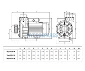 Espa Wiper3 150M Spa Pump - 1.5HP - 2 Speed