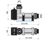 Pahlen Electric Heater - Aqua Compact -  3.0kW