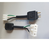 Adapter - 3 pin AMP plug (female) to 3 pin JJ