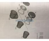 HydroAir Suction Nut - 90° PVC