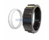 "HydroQuip Heater Union Nut + Retainer  3.00"""