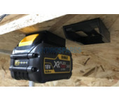 Power tool battery mount for DeWalt XR - 2 pack - Green