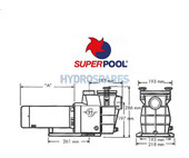 SuperPool - 1.5HP