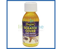 Rustin's Scratch Cover & Polish for Medium Wood - 125ml