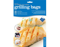 Set of Three Re-Usable Non-Stick Grill Bag
