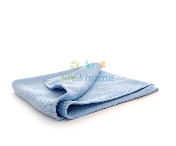 Pure-Spa Basics Microfibre Cleaning Cloth - Blue