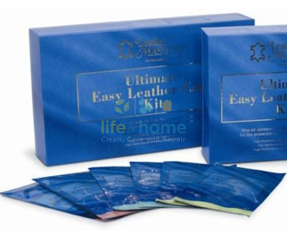 Leather Master Maxi Wipes Ultimate Easy Leather Care Kit