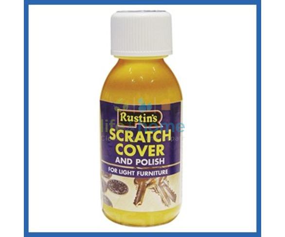 Rustin's Scratch Cover & Polish for Medium Wood - 125ml