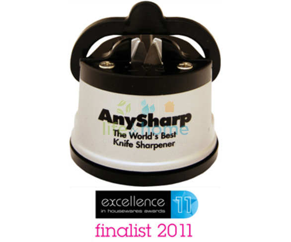 Any Sharp Knife Sharpener - Silver