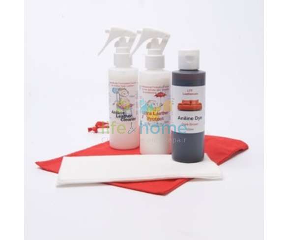 Aniline Leather Restoration Kit - Black