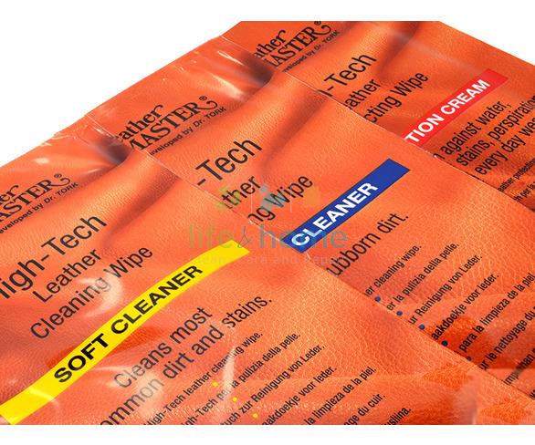 Leather Master Hi-Tech  Wipes Plus Care Kit