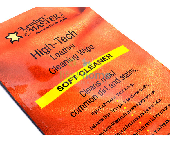 Leather Master Hi-Tech Soft Cleaner Wipe