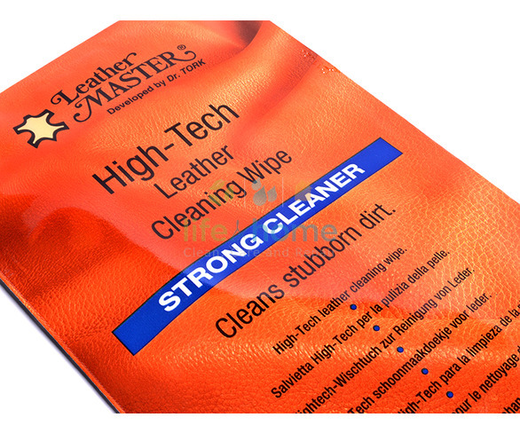 Leather Master Hi-Tech Strong Cleaner Wipe