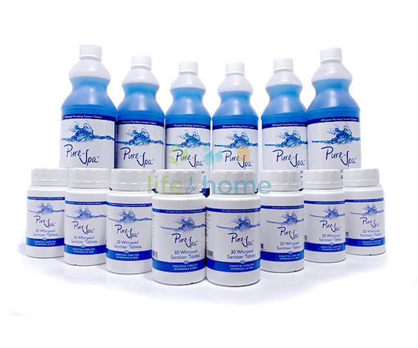 Pure-Spa Bumper Whirlpool Cleaning Pack
