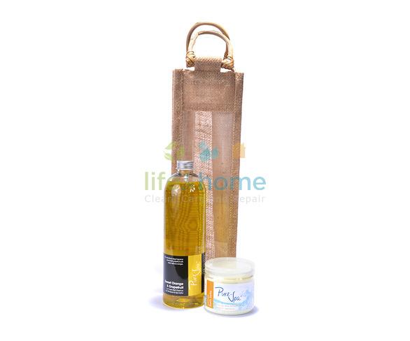 Pure-Spa Low Foam & Bath Salts Gift Set