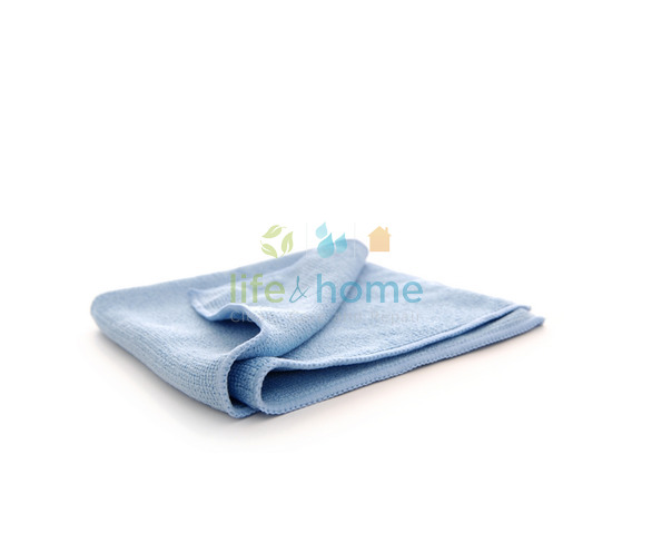 Pure-Spa Microfibre Cleaning Cloth - Blue