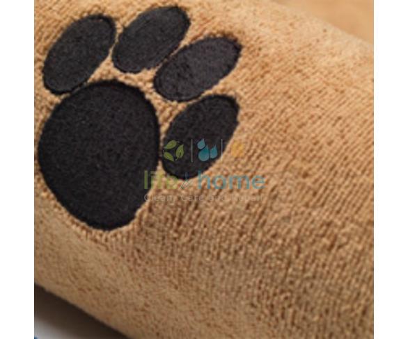 Microfibre Pet/Dog Towel - Tan