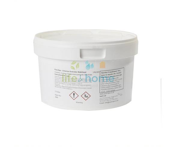 Pure-Spa Stabilised Chlorine Granules (Dichlor) 25KG drum
