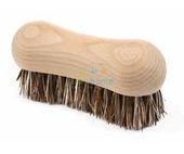 Wooden scrubbing brush