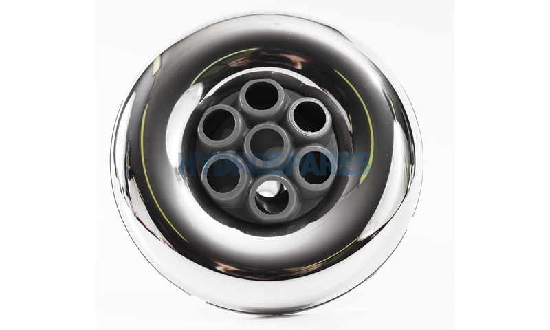 "Jet Front - 3-3/8"" - Massage - Stainless/Grey - Available while stock lasts"