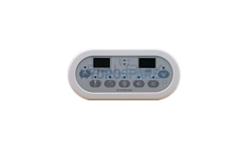System 500 Digital Touch Pad - WhiteTrim