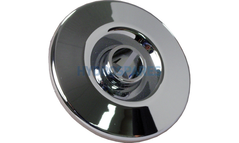 Trimline Jet - Escutcheon Kit Directional Chrome 63mmØ (Triangular Pieces on Rear)