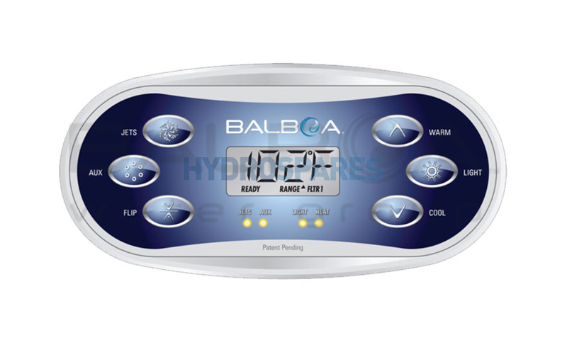 Balboa Topside Control Panel TP600 Series