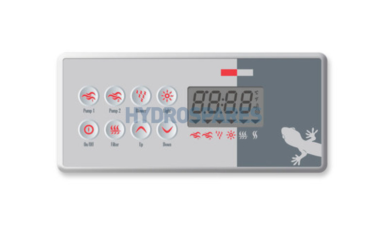 Gecko Topside Control Panel TSC-8 Series (K8)