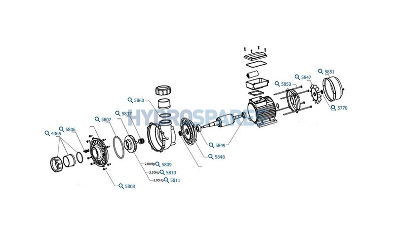 LX LP Pump Series - Spares